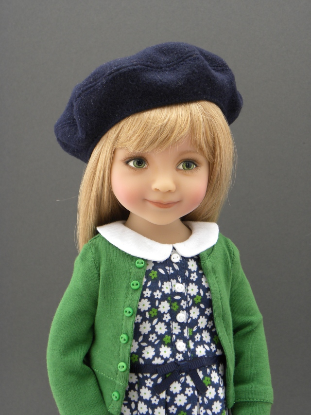 My little Matilda in a blond wig.  Still adorable, don't you think?